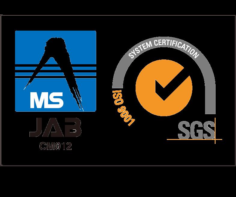 ISO9001:2015 認証取得/審査登録証 JP12/062379