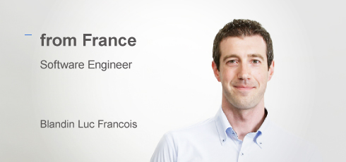 Software Engineer: BLANDIN LUC FRANCOIS(from France)