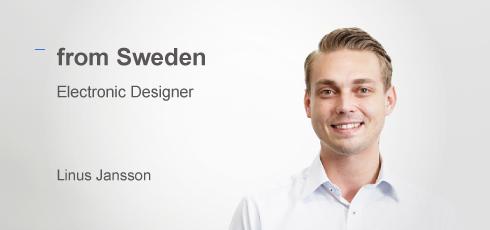 Circuit Designer: Linus Jansson(from Sweden)