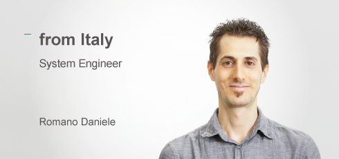 System Engineer: Romano Daniele(from Italy)